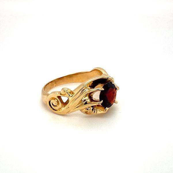Estate Garnet Ring Image 3 Toner Jewelers Overland Park, KS