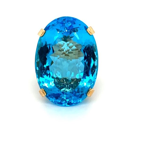 Estate Blue Topaz Ring Toner Jewelers Overland Park, KS