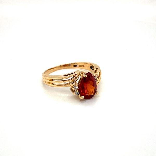 Estate Spessartine Garnet Image 2 Toner Jewelers Overland Park, KS