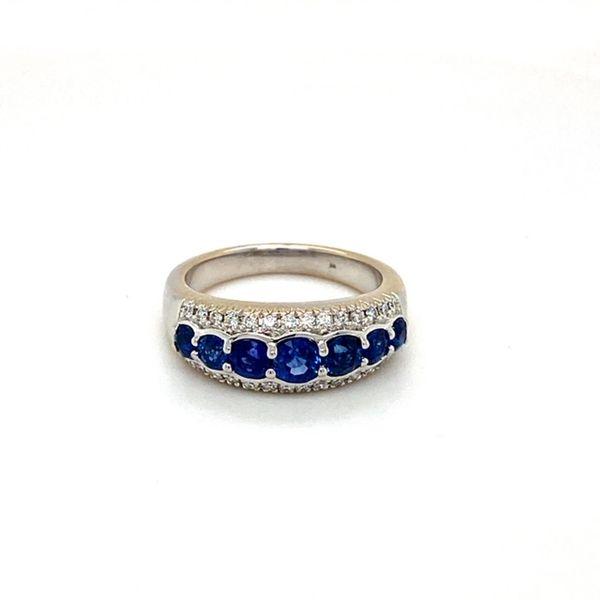 Estate Sapphire Band Toner Jewelers Overland Park, KS