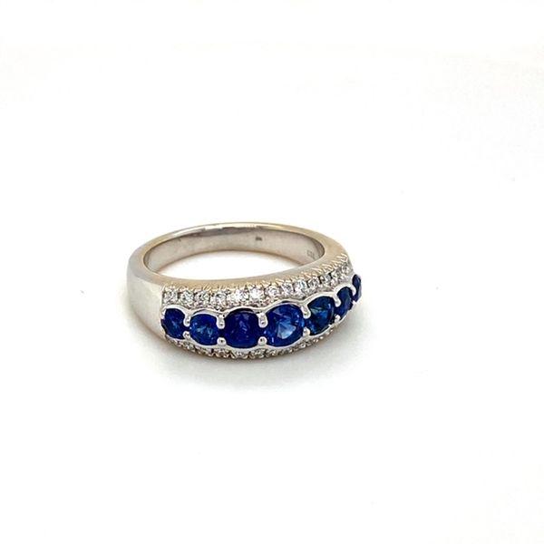 Estate Sapphire Band Image 2 Toner Jewelers Overland Park, KS