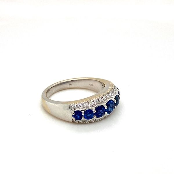 Estate Sapphire Band Image 3 Toner Jewelers Overland Park, KS