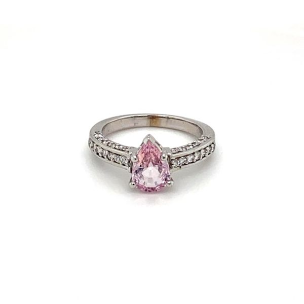 Estate Pink Sapphire Ring Toner Jewelers Overland Park, KS