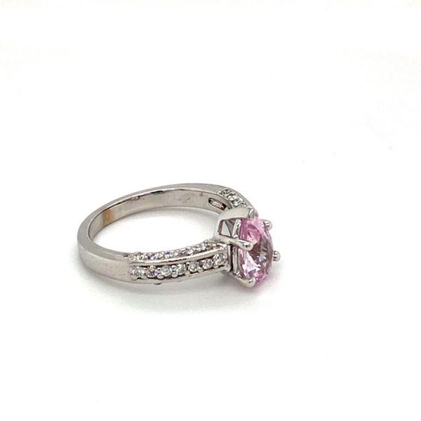 Estate Pink Sapphire Ring Image 3 Toner Jewelers Overland Park, KS