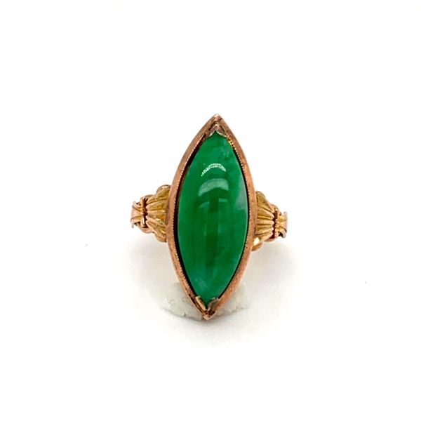 Estate Jade Ring Toner Jewelers Overland Park, KS