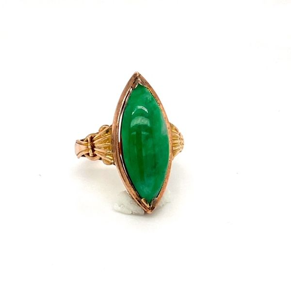 Estate Jade Ring Image 2 Toner Jewelers Overland Park, KS