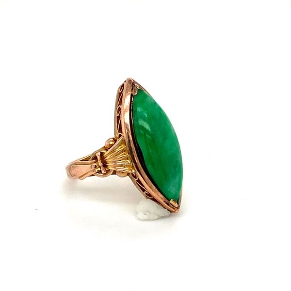 Estate Jade Ring Image 3 Toner Jewelers Overland Park, KS
