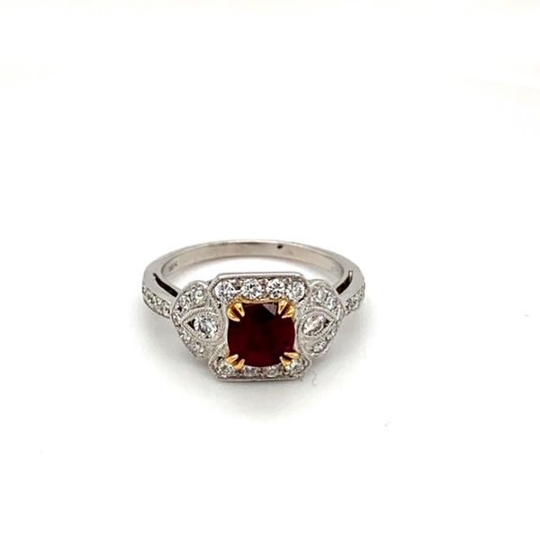 Estate Ruby Ring Toner Jewelers Overland Park, KS