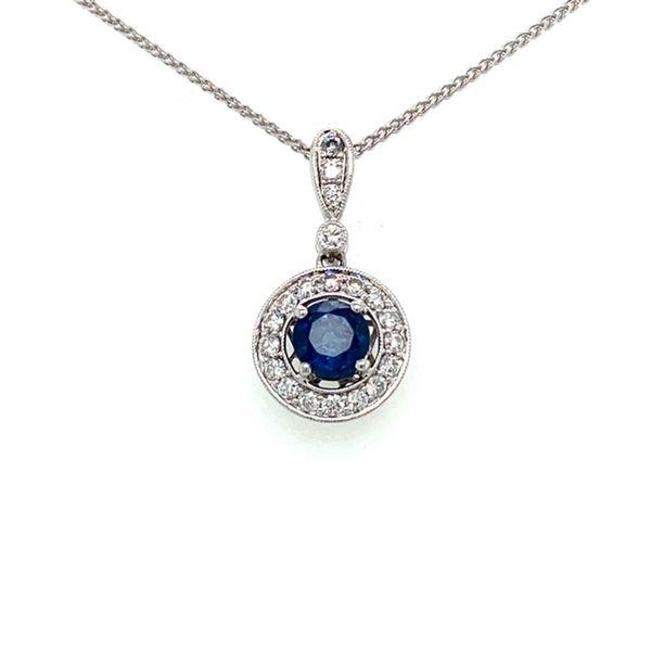 Sapphire Pendant  Toner Jewelers Overland Park, KS