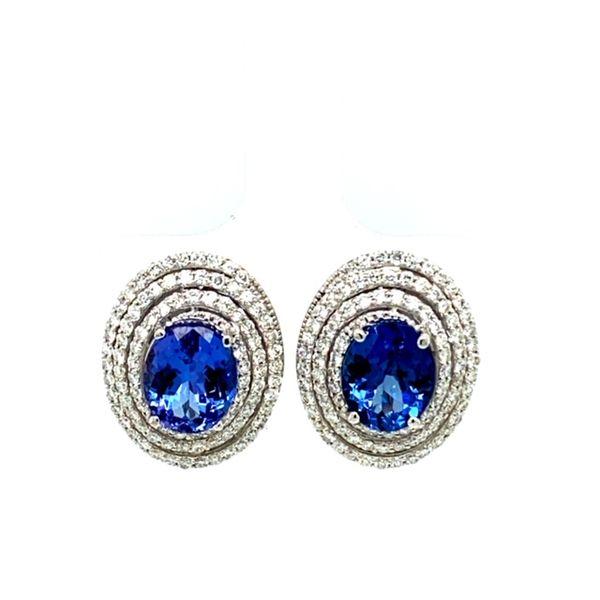 Tanzanite and Diamond Earrings  Toner Jewelers Overland Park, KS
