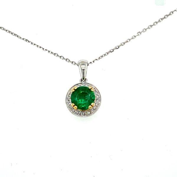 Emerald and Diamond Necklace Toner Jewelers Overland Park, KS