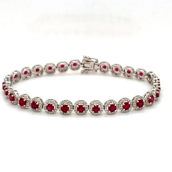 Ruby and Diamond Bracelet Toner Jewelers Overland Park, KS