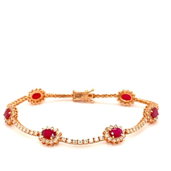 Ruby and Diamond Bracelet Toner Jewelers Overland Park, KS