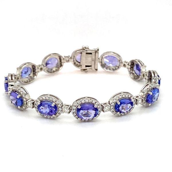 Tanzanite and Diamond Bracelet Toner Jewelers Overland Park, KS