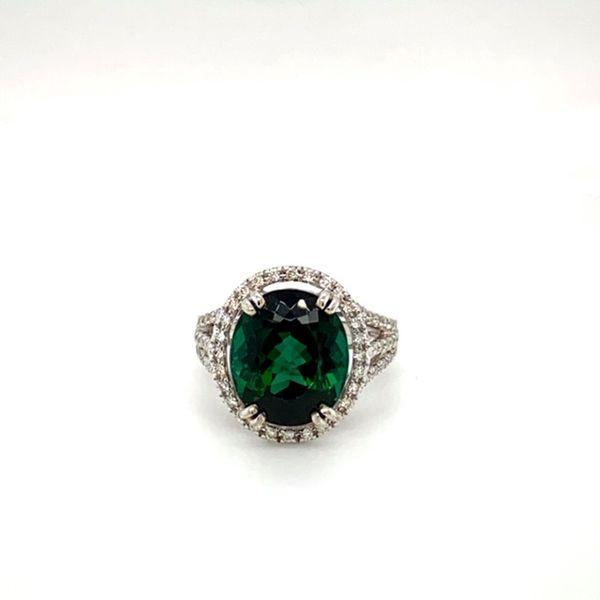 Green Tourmaline and Diamond Ring Toner Jewelers Overland Park, KS