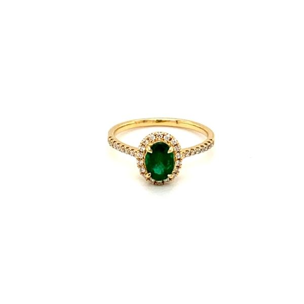 Emerald and Diamond Ring Toner Jewelers Overland Park, KS