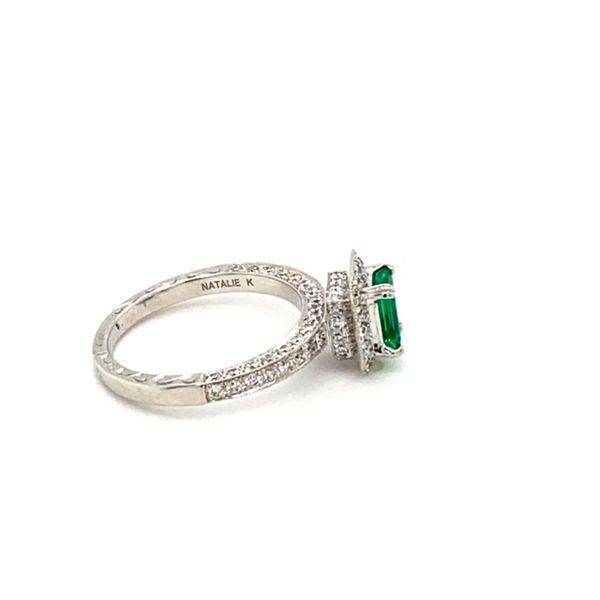 Emerald and Diamond Ring Image 3 Toner Jewelers Overland Park, KS