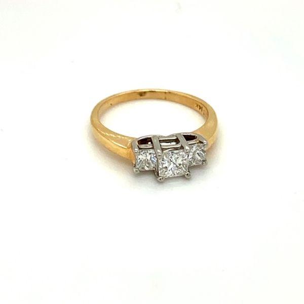 Estate Three-Stone Diamond Engagement Ring  Toner Jewelers Overland Park, KS