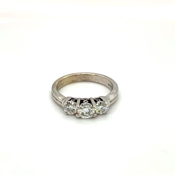 Estate Moissanite Ring Toner Jewelers Overland Park, KS