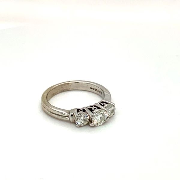 Estate Moissanite Ring Image 2 Toner Jewelers Overland Park, KS