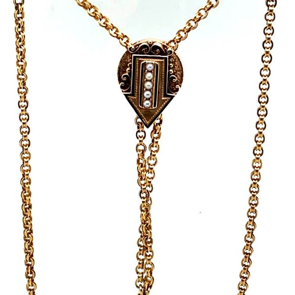 Estate Antique Gold Necklace Image 2 Toner Jewelers Overland Park, KS