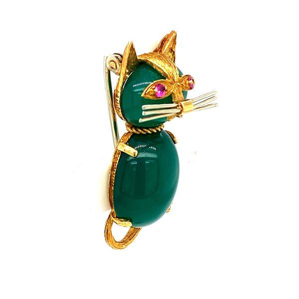 Estate Cat Brooch Image 2 Toner Jewelers Overland Park, KS