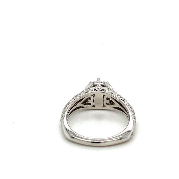 Engagement Ring Setting with Milgrain Image 4 Toner Jewelers Overland Park, KS