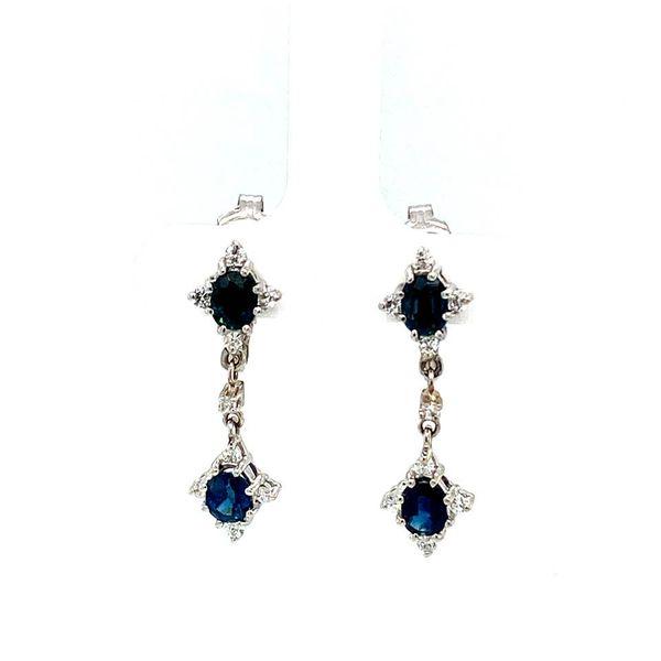 Estate Sapphire Clip On Earrings Toner Jewelers Overland Park, KS