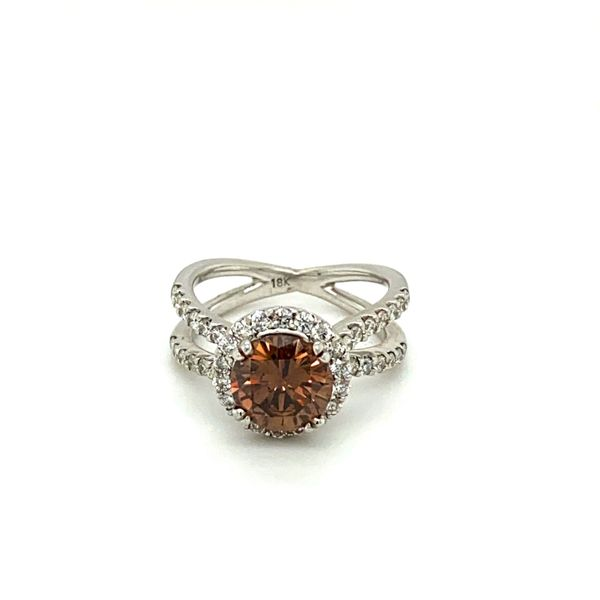 Estate Cognac Diamond Ring Toner Jewelers Overland Park, KS