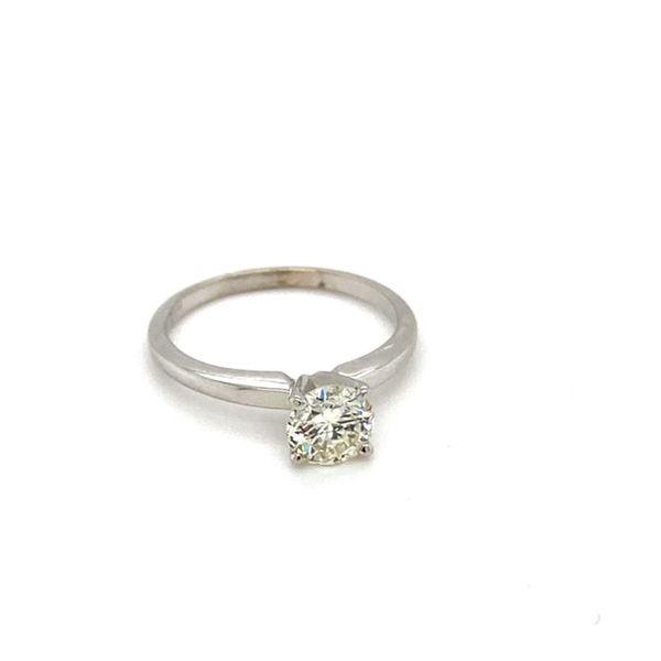 Round Solitaire Diamond Engagement Ring  Image 2 Toner Jewelers Overland Park, KS