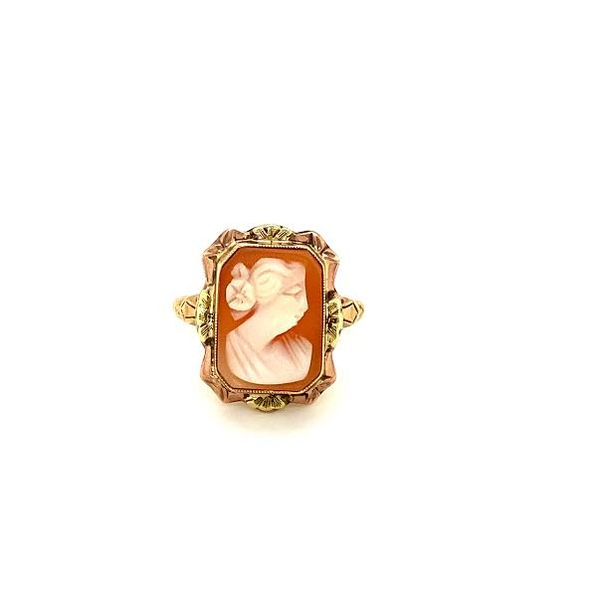 Estate Cameo Ring Image 2 Toner Jewelers Overland Park, KS