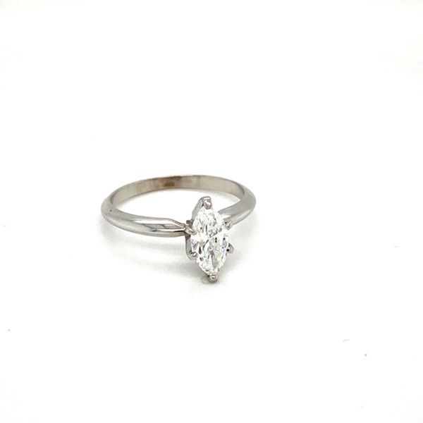 Marquise Solitaire Engagement Ring  Image 2 Toner Jewelers Overland Park, KS