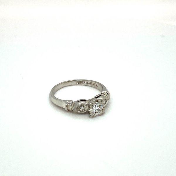 Vintage Estate Engagement RIng Image 2 Toner Jewelers Overland Park, KS