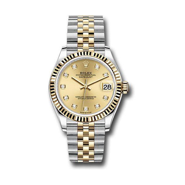 30mm Ladies Oyster Perpetual DateJust Rolex Toner Jewelers Overland Park, KS