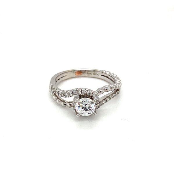 Bypass Shank Engagement Ring Setting Toner Jewelers Overland Park, KS