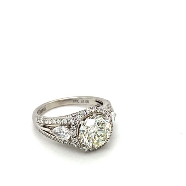 Certified Diamond Engagement Ring by Simon G. Image 3 Toner Jewelers Overland Park, KS