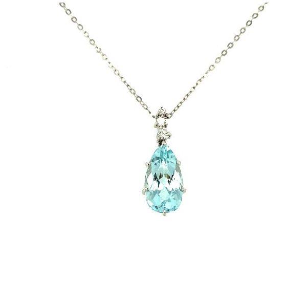 Estate Aquamarine Necklace  Toner Jewelers Overland Park, KS