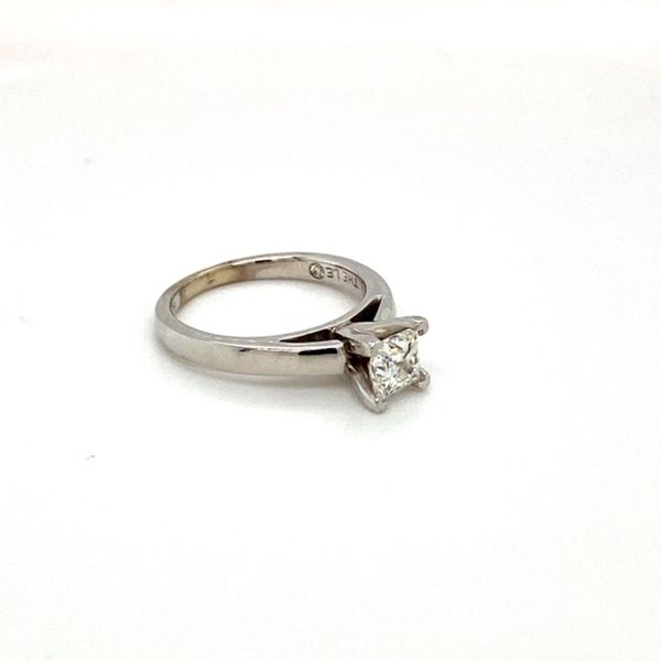 Estate Diamond Solitaire Ring Image 3 Toner Jewelers Overland Park, KS