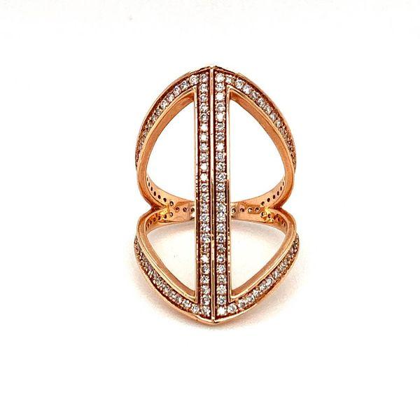 Estate Diamond Geometric Ring Toner Jewelers Overland Park, KS