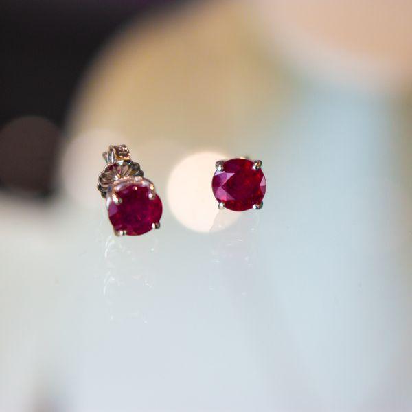 Ruby Earring Studs