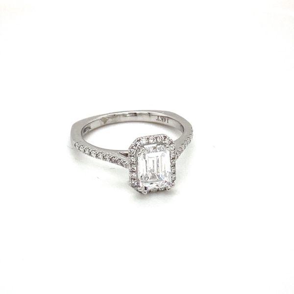 White Gold Diamond Engagement Ring Mount Image 2 Toner Jewelers Overland Park, KS