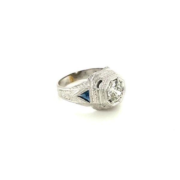 Estate Antique Diamond Ring  Image 3 Toner Jewelers Overland Park, KS