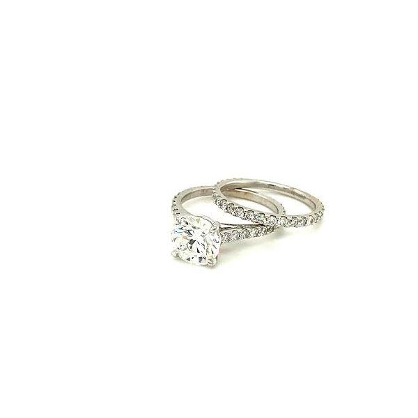 Estate Diamond Ring Set Image 3 Toner Jewelers Overland Park, KS