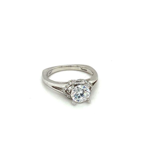 White Gold Diamond Engagement Ring Setting Image 2 Toner Jewelers Overland Park, KS