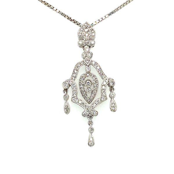 Estate Diamond Pendant Toner Jewelers Overland Park, KS