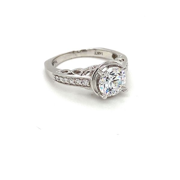 Engagement Ring Mount Image 4 Toner Jewelers Overland Park, KS