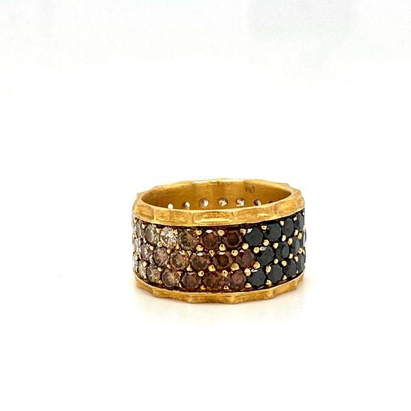 Estate Diamond Ombre Ring Image 2 Toner Jewelers Overland Park, KS