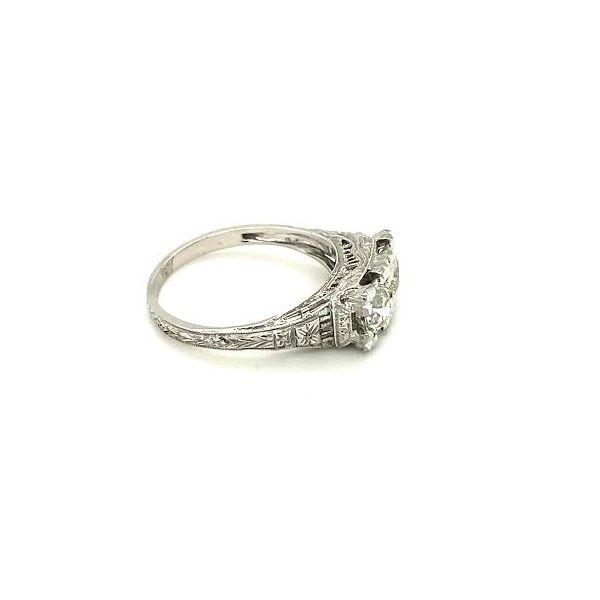 Estate Vintage Diamond Ring Image 3 Toner Jewelers Overland Park, KS