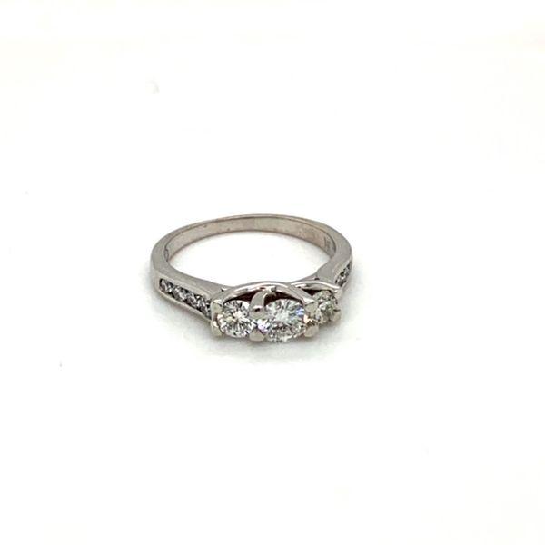 Estate Diamond Three Stone Ring Image 2 Toner Jewelers Overland Park, KS