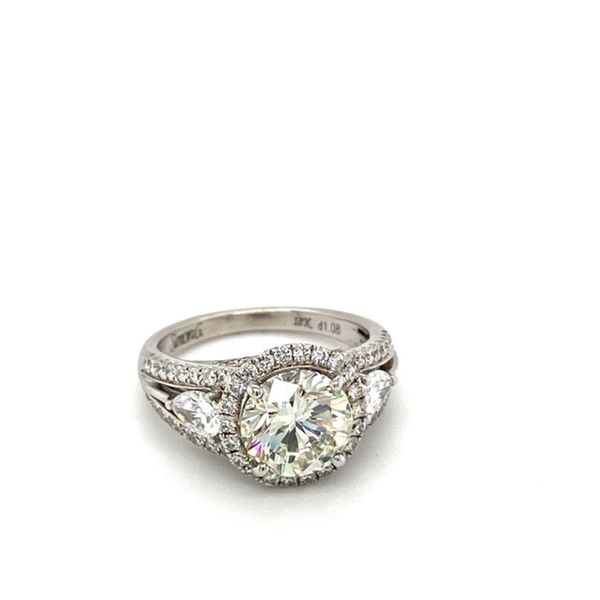 Certified Diamond Engagement Ring by Simon G. Image 2 Toner Jewelers Overland Park, KS